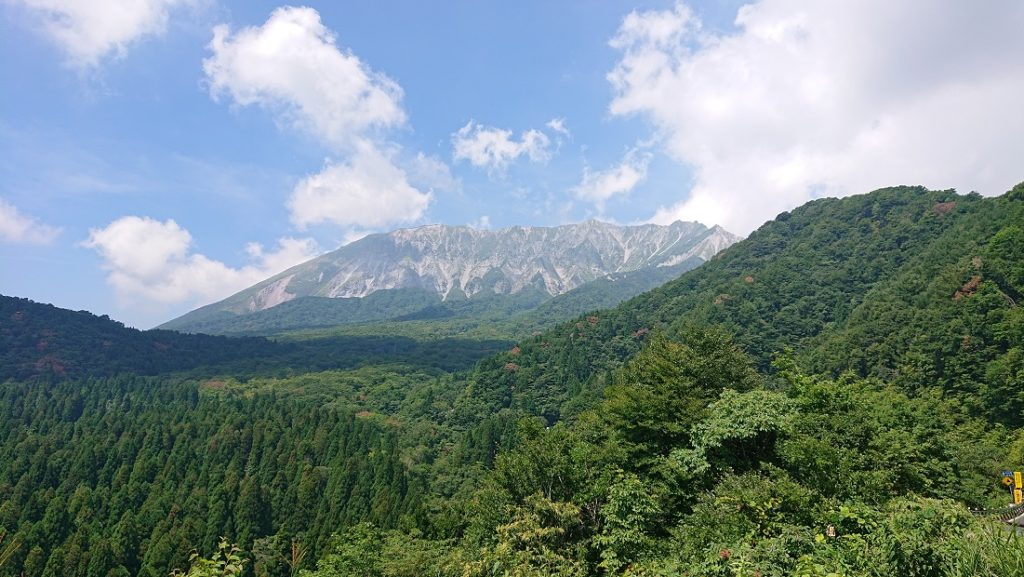 鍵掛峠からの大山